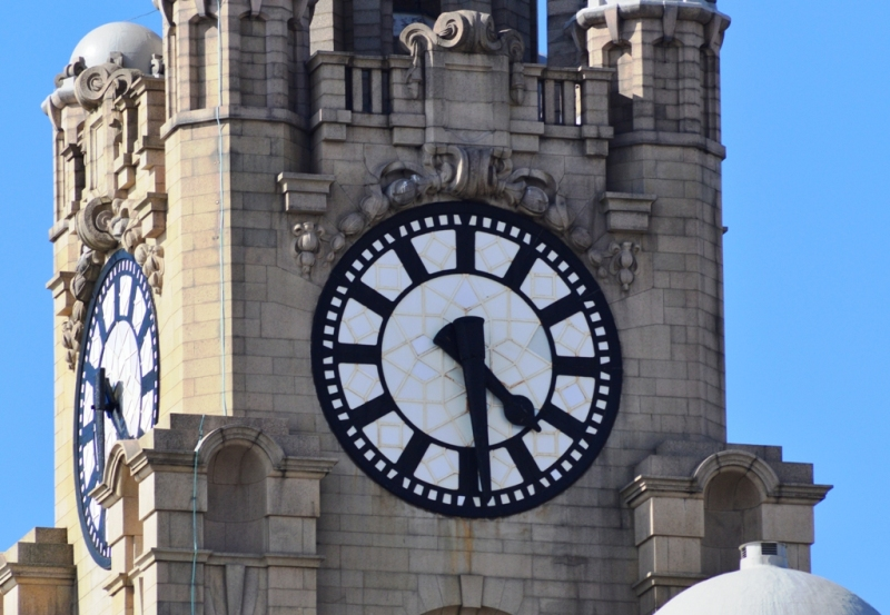 Britain's biggest clock