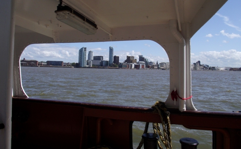 View from Mersey Ferry